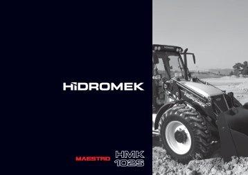 102 S Maestro - Türkçe Katalog - Hidromek