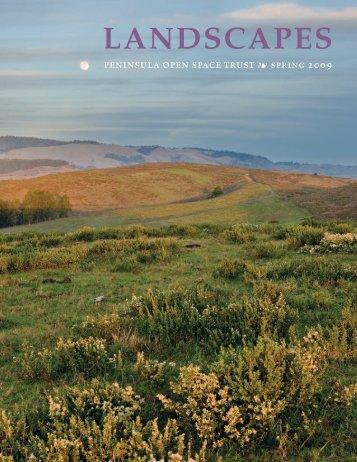 LANDSCAPES - Peninsula Open Space Trust