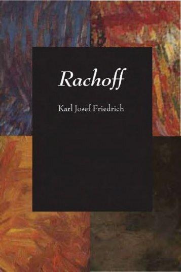 Rachoff: A True Story - Plough