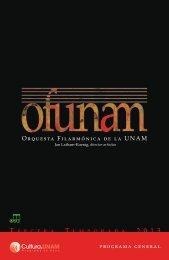 Descarga el programa general de la Tercera ... - Música UNAM
