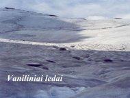 10. vaniliniai ledai