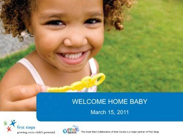 Welcome Home Baby Powerpoint Presentation - Great Start for Kids