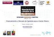 Capital de riesgo para la Mediana Mineria - Sonami