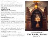 HERE - Grace Church in New York City