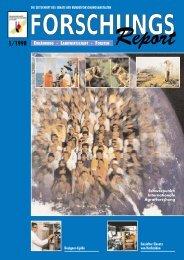 ForschungsReport 1998-1 - BMELV-Forschung