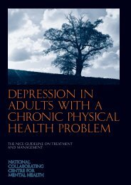 Depression in adults with a chronic physical health problem full ...