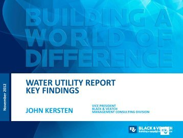Water Utility Report