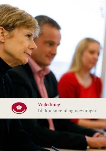 Vejledning til domsmænd og nævninger - Domstol.dk