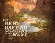 Vacations - Western River Expeditions