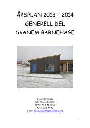 ÅRSPLAN 2011 – 2012 - Hemne kommune