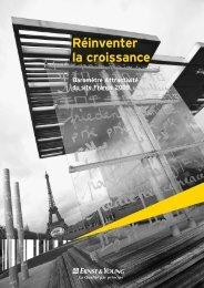 Baromètre EY 2009 Attractivité de la France.pdf - Ubiqus Event ...