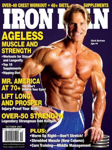 AGELESS - Ironman Magazine