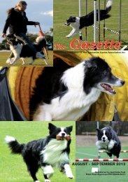 Aug-Sep 2013 - Dogs Tasmania