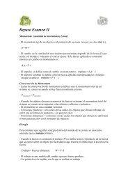Repaso Examen II