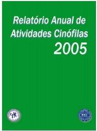 REVISTA 19+relatorio.p65 - Confederação Brasileira de Cinofilia