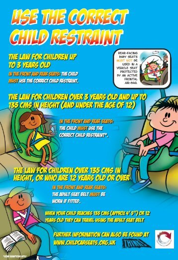 Use the Correct Child Restraint - Road Safety Wales