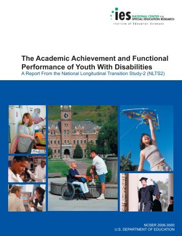 The Academic Achievement and Functional Performance of ... - ERIC
