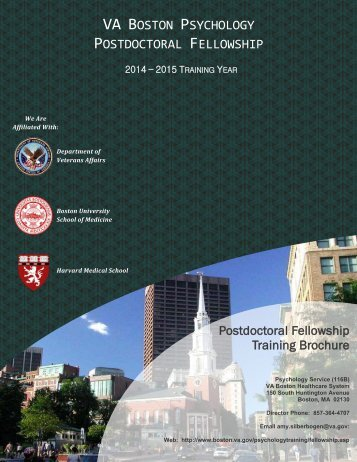 Download the VA Boston Psychology Postdoctoral Fellowship ...