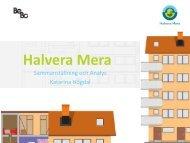 2 MB 15 November, 2013 Halvera Mera Analys - Katarina ... - BeBo