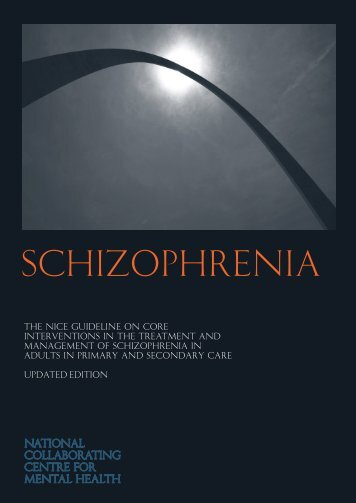 Schizophrenia - National Collaborating Centre for Mental Health
