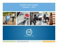 Legislative Update - Michigan Local Government Management ...