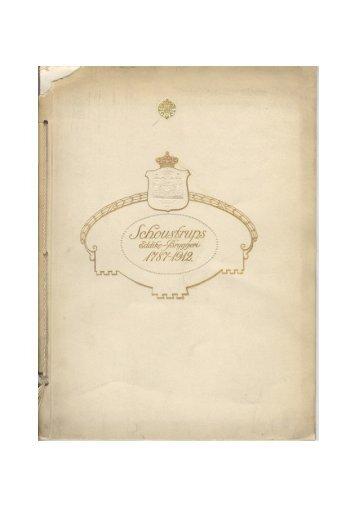 Schoustrups Eddike-Bryggeri 1787-1912.pdf - Hovedbiblioteket.info
