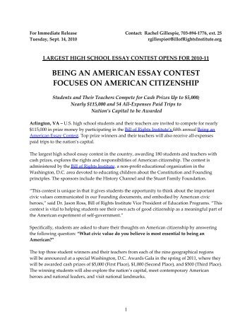 what it means to be an american citizen essay