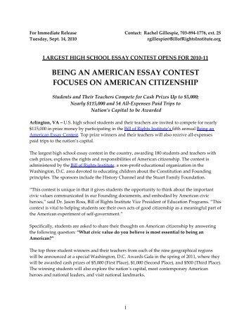 american custom essay
