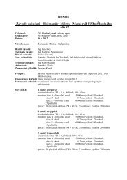 rozpis - Národní hřebčín Kladruby