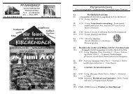 pfarr brief - Katholische Pfarrgemeinde St. Josef Ihrlerstein
