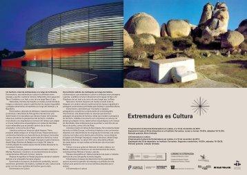Extremadura es Cultura - Mostra Espanha 2013