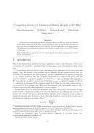 Computing Geometric Minimum-Dilation Graphs is NP-Hard