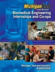 Biomedical Engineering Internship/Co-op