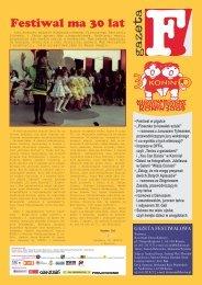 Gazeta Festiwalowa 2009 - Wirtualny Konin - Słupca