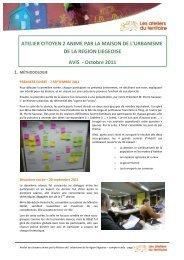 Avis Liège2 - Ateliers du territoire