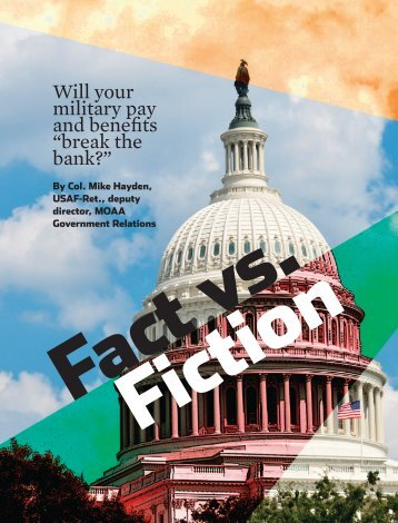 Fact vs. Fiction - Military Officers Association of America