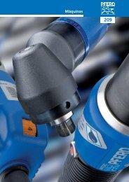 Máquinas neumáticas, eléctricas y de eje flexible Máquinas - Pferd