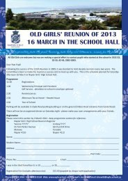 download the registration form and programme - nghs.school.nz