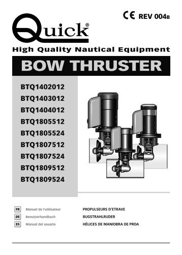 BOW THRUSTER - Quick® SpA
