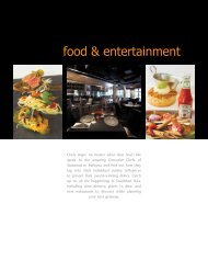 food & entertainment - Hospitality Asia Magazine
