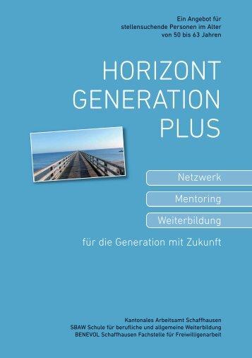HORIZONT GENERATION PLUS - Tandem