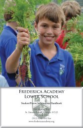 Frederica Academy Lower School