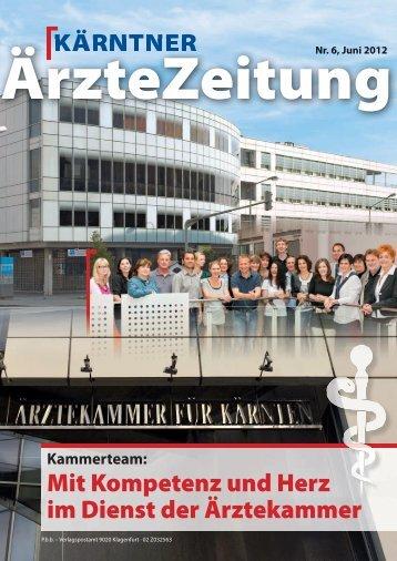 Fortbildungen - Ärztekammer  für Kärnten