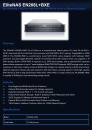 EliteNAS EN208L+BXE - Moderntech.com.hk