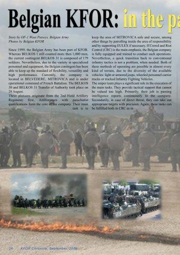 2009-09_KFOR_Chronicle_new:Layout 1.qxd - 2de-artillerie.be
