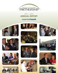 AnnuAl RepoRt - Buffalo Niagara Partnership