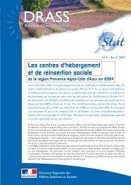N°4 - Avril 2007 - ARS Paca