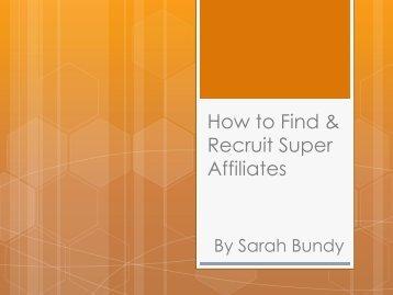 Sarah Bundy-web.pdf - Affiliate Management Days