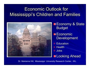 Economy and Families
