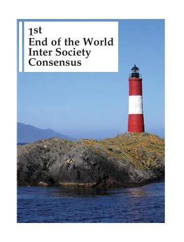 1st End of the World Inter Society Consensus - caccv.org.ar